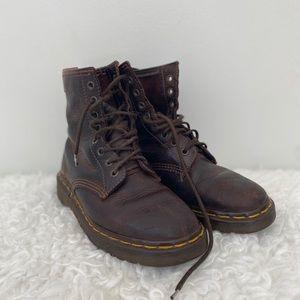 Vintage Dr. Martens Boots Brown Women's size 6